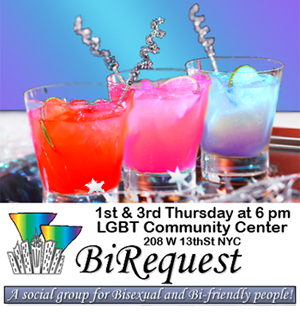 New York Area Bisexual Network invites you to Fluid & Festive - BiRequest's Annual Holiday Party