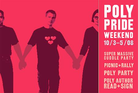 New York City Poly Pride Weekend3 thru 5  October 2008