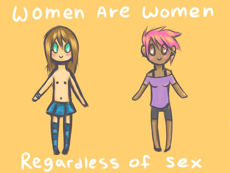 Women are Women regardless of Sex